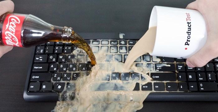 Чистка от залития ноутбука в Днепре